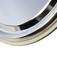 Lid with compound ring